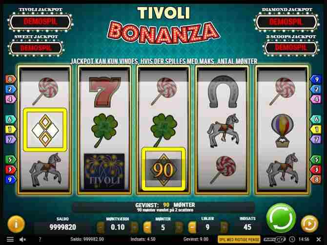 Spilleautomat Bonanza (Tivoli casino)