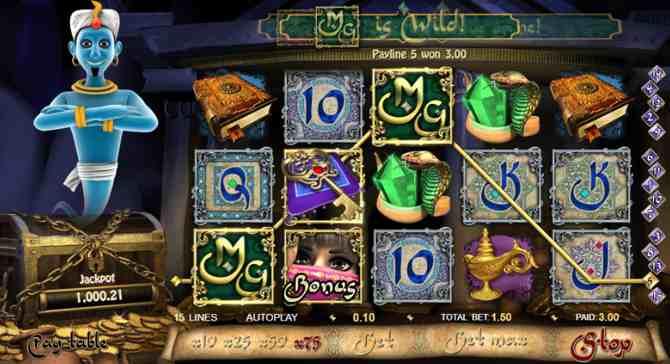Spilleautomat Millionaire Genie